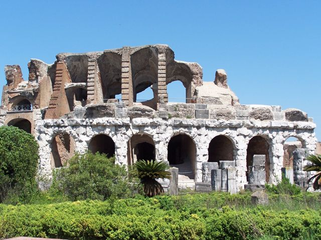 A Roman Amphitheater, All to Yourself